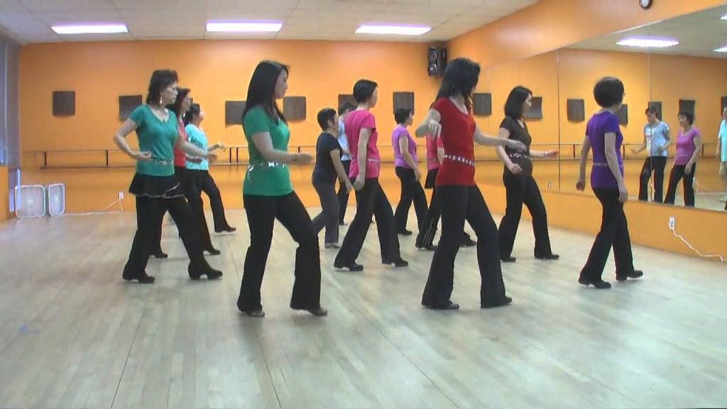 belajar line dance