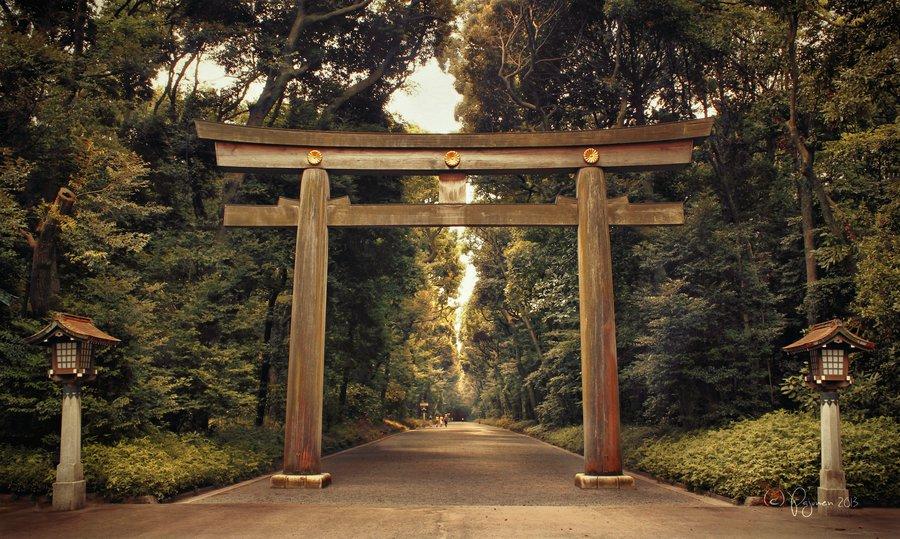 Meiji Shrine, Tokyo (sumber)