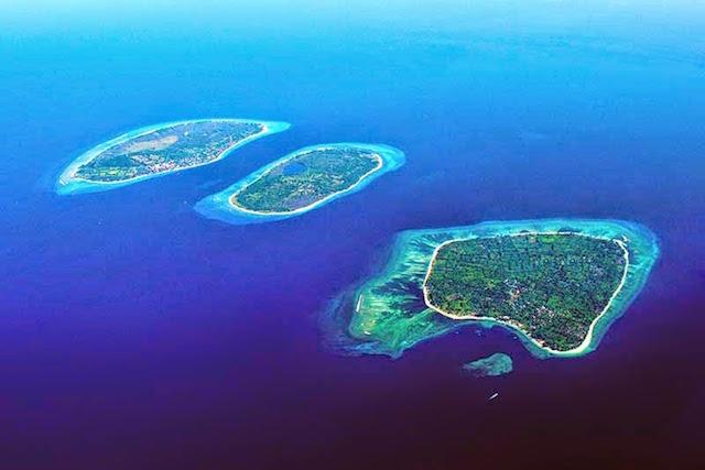 Pulau Gili (Gili Trawangan, Gili Meno dan Gili Air), Lombok (sumber)