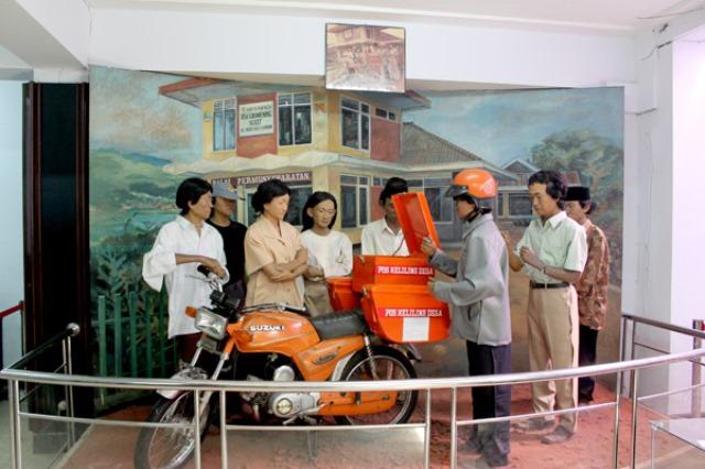 museum prangko
